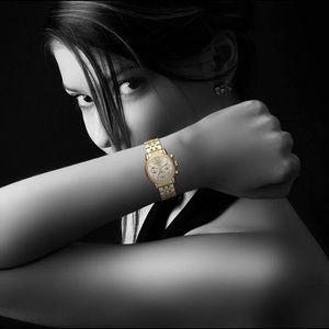 Micheal Kors Women's MK5676 Ritz Gold Watch